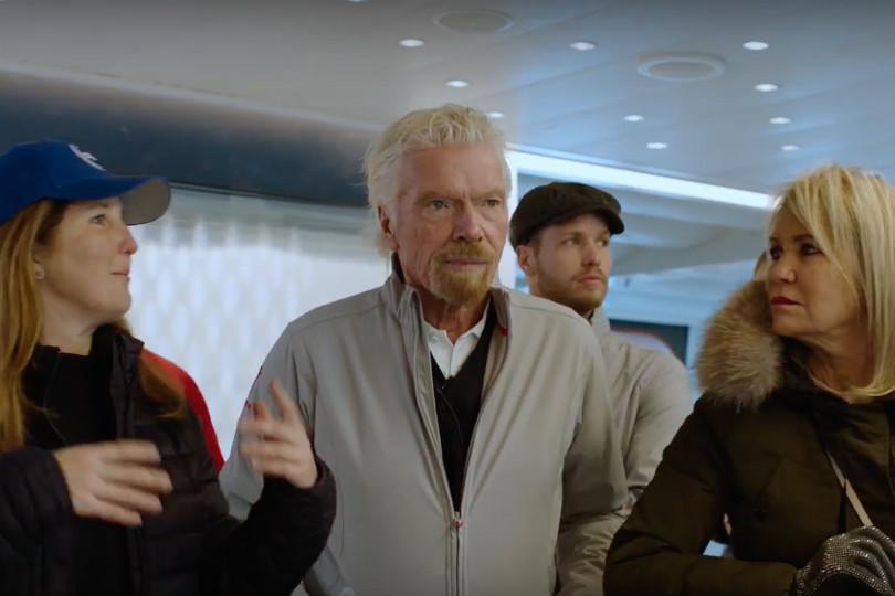 Watch Virgin Voyages' first ship complete its sea trials