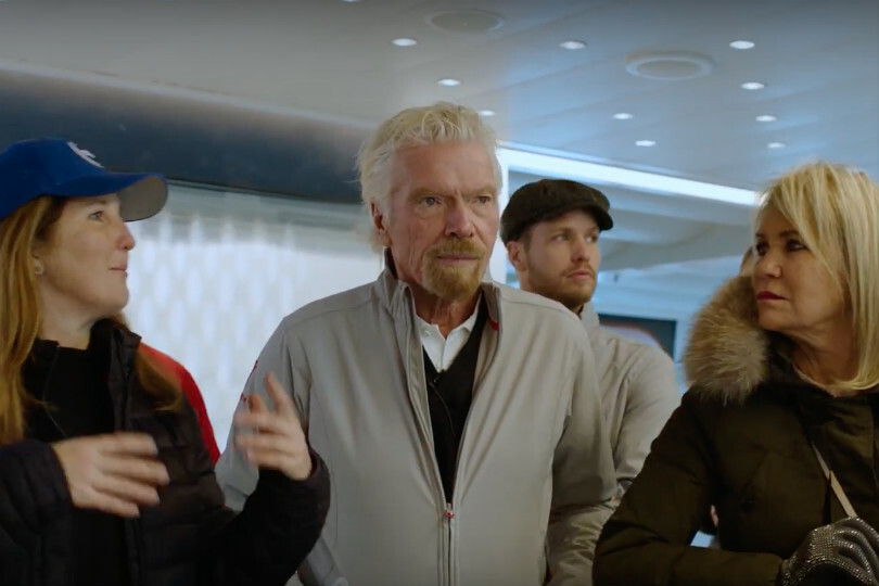 Branson sells $300m space business stake to support Virgin Atlantic