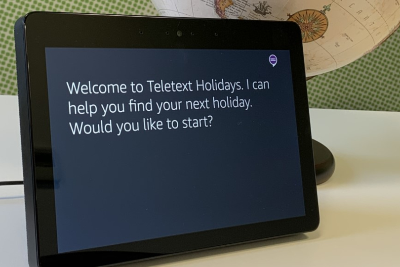Teletext Holidays launches Alexa voice search solution