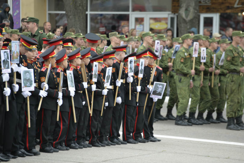 Victory Day in Transnistria, the Russian-aligned republic along the Dniester river