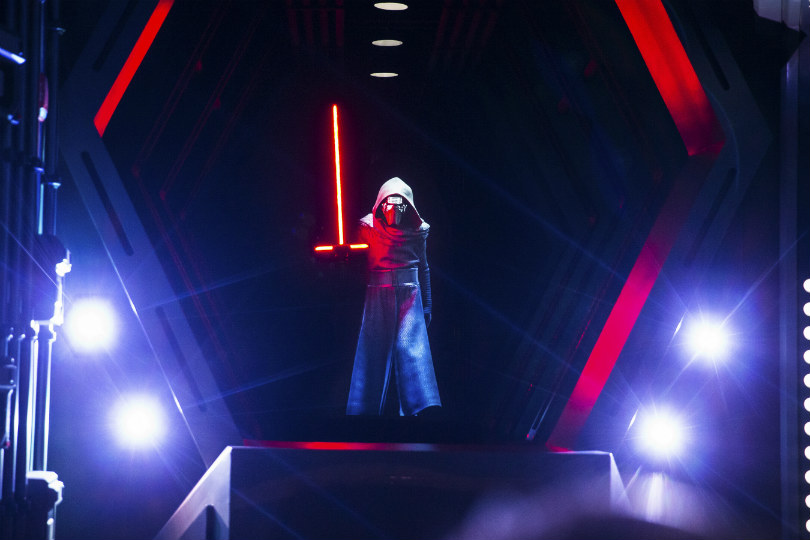 Use the force at Disney's new 'immersive' Star Wars attraction