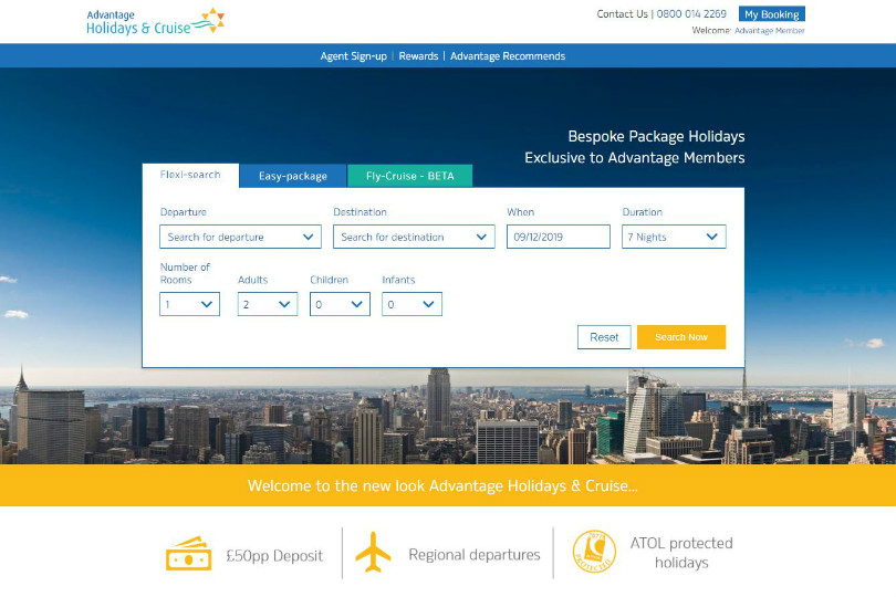 Advantage Holidays launches new booking tools for agents