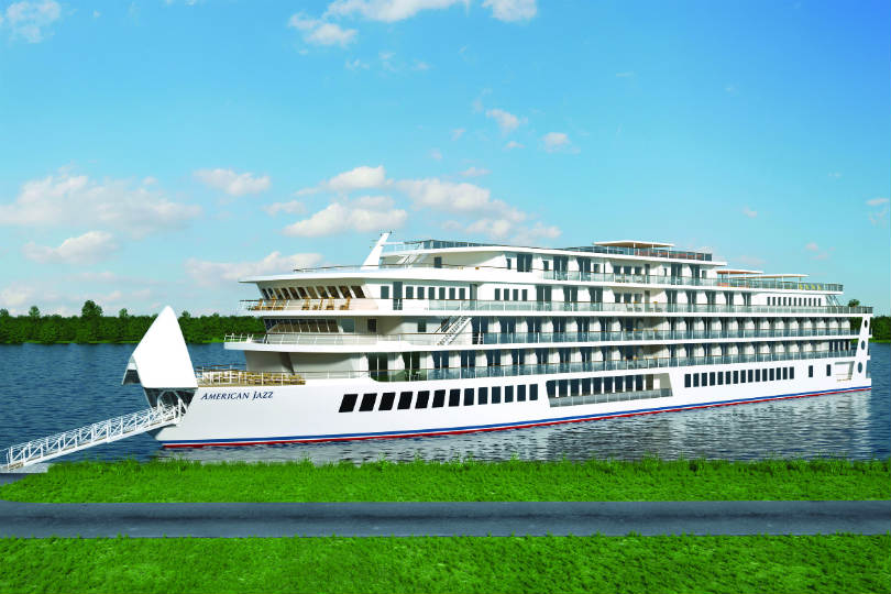 American Cruise Lines' third ship, American Jazz, will begin cruising the Mississippi