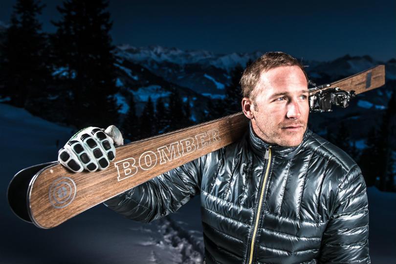 Bode Miller is a Bomber Ski ambassador