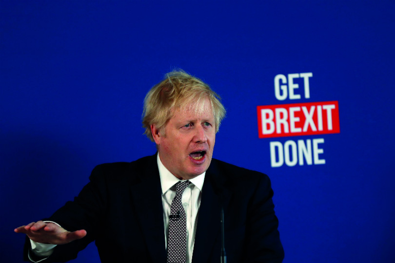 Boris Johnson will be having Brexit negotiations with the EU