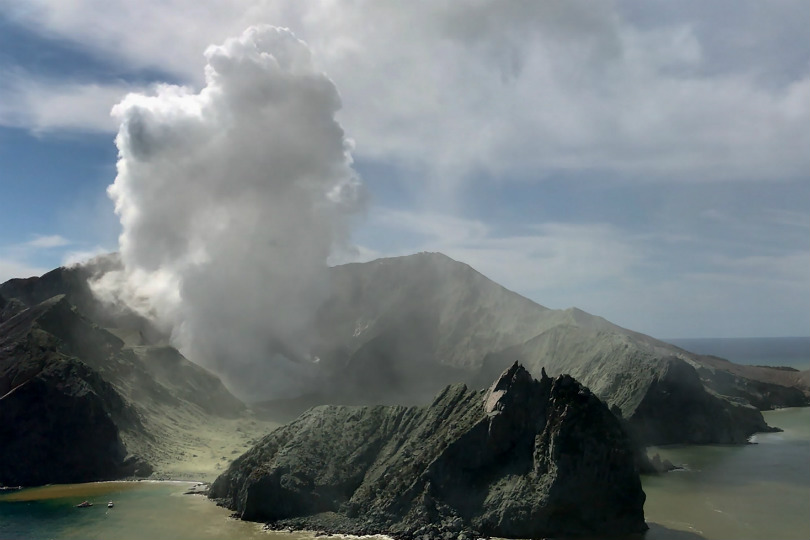 White Island erupted on 9 December