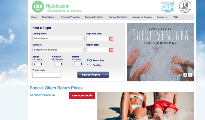 FlyLolo 'suspends trading' during supplier negotiations