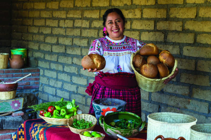 Experiencing traditional culinary delights in Oaxaca