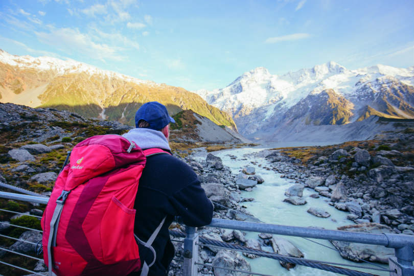 Trips to New Zealand for active travellers