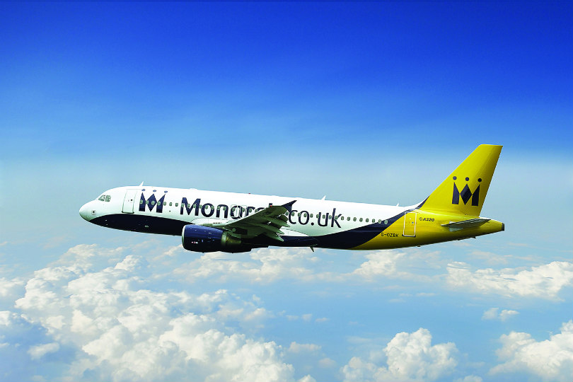 Monarch Airlines collapsed in 2017