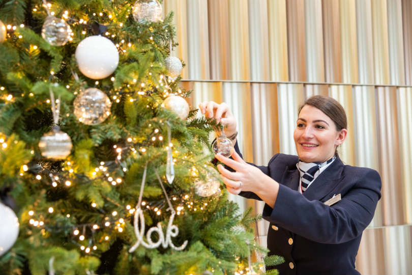 British Airways Christmas: One million people and 450,000 sprouts