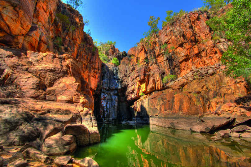 There are wildlife-rich national parks in the Northern Territory