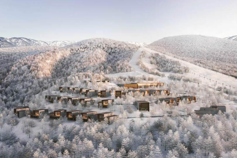 The new Aman resort will be on Mount Moiwa in Japan