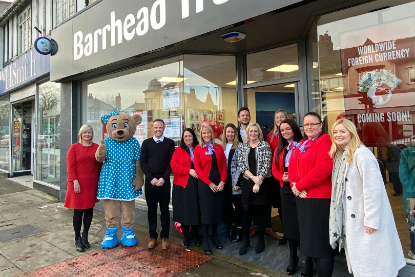 Ex-Thomas Cook team launch Barrhead's new Liverpool store