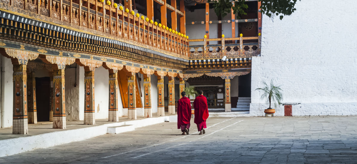 Bhutan exudes a different kind of luxury than the flashy, six-star hotel kind