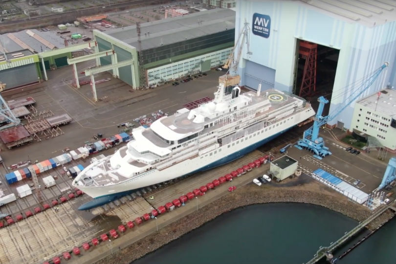 New Crystal expedition vessel to debut this summer
