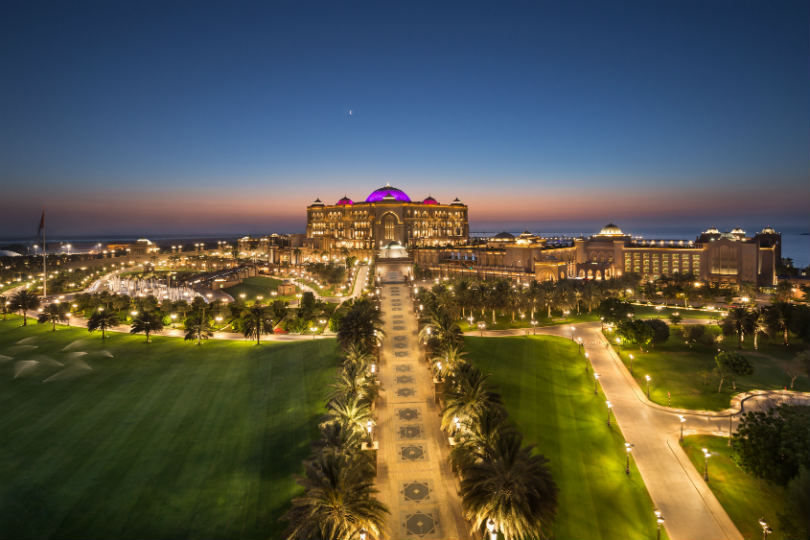 The Emirates Palace in Abu Dhabi is to be rebranded as a Mandarin Oriental property