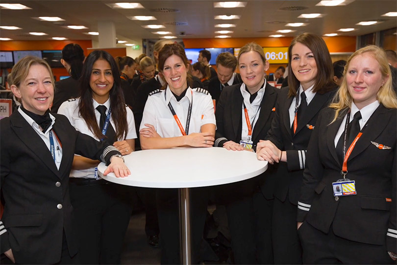 EasyJet's Sophie Dekkers on female pilots - and championing Brownies