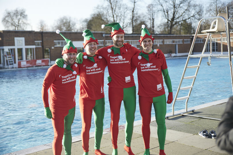 TTG's 'Freezer Geezers' brave icy plunge to help the homeless
