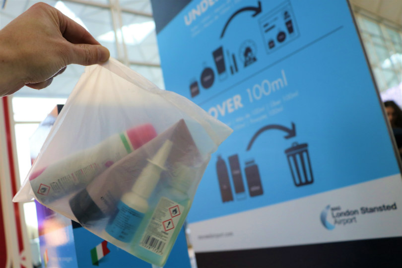 Stansted trialling compostable security bags