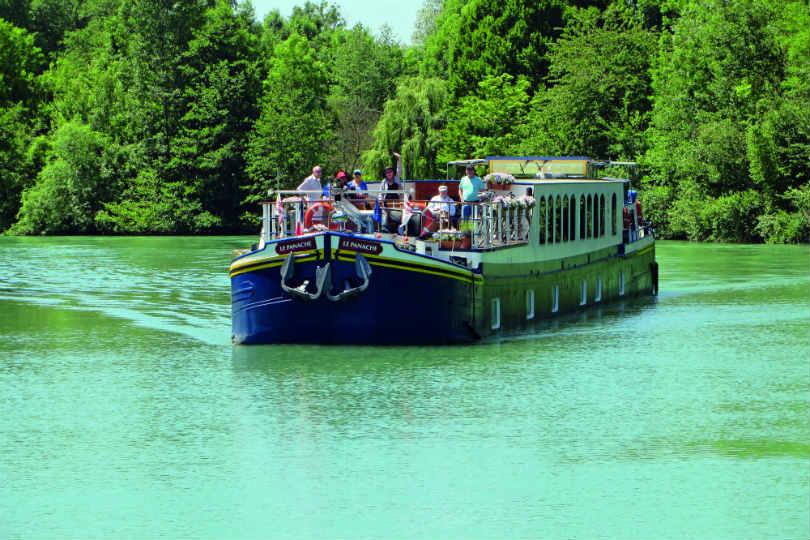 European Waterways' hotel barge Panache sleeps 12 guests