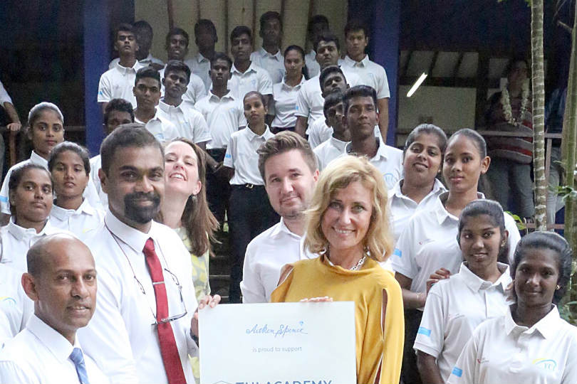 Tui opens academy in Sri Lanka for disadvantaged youths