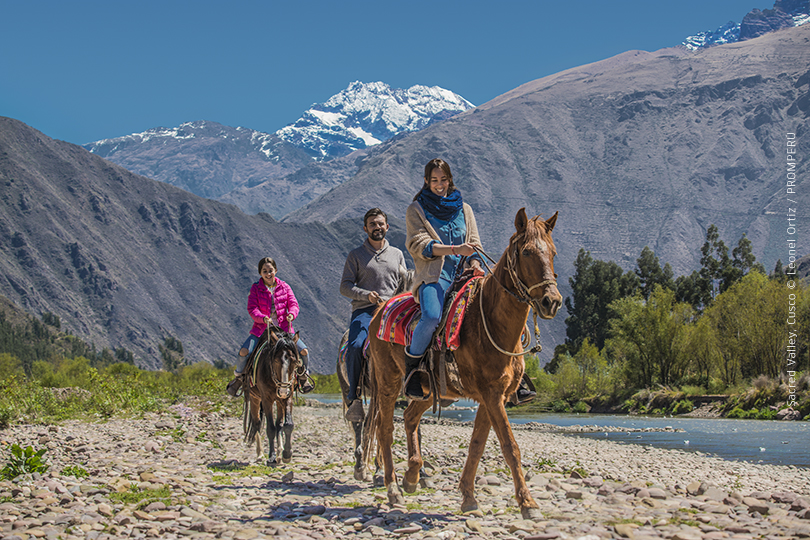 Horse-riding is a popular activity in Peru