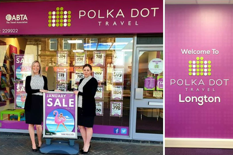 Former Thomas Cook team open latest Polka Dot shop