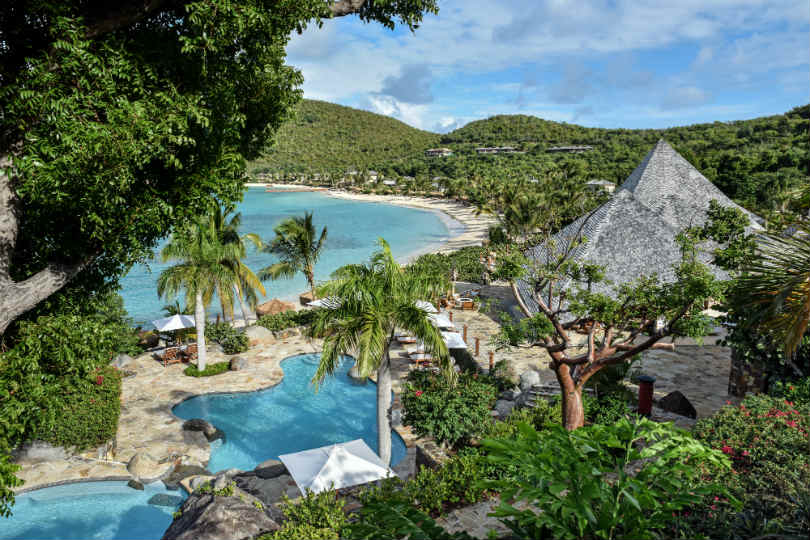 British Virgin Island resort unveils new look after hurricane