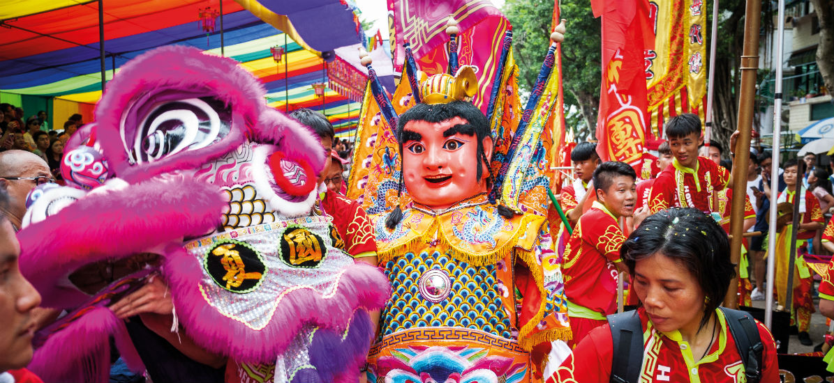 These celebrations are popular with tourists and locals