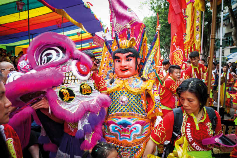 Experience culture at traditional Asian festivals