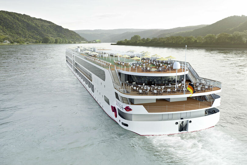 Four sailings are offered onboard A-Rosa's upcoming hybrid-powered E-Motion ship