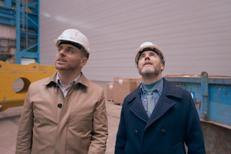 Gary Barlow takes a tour of P&O's Iona