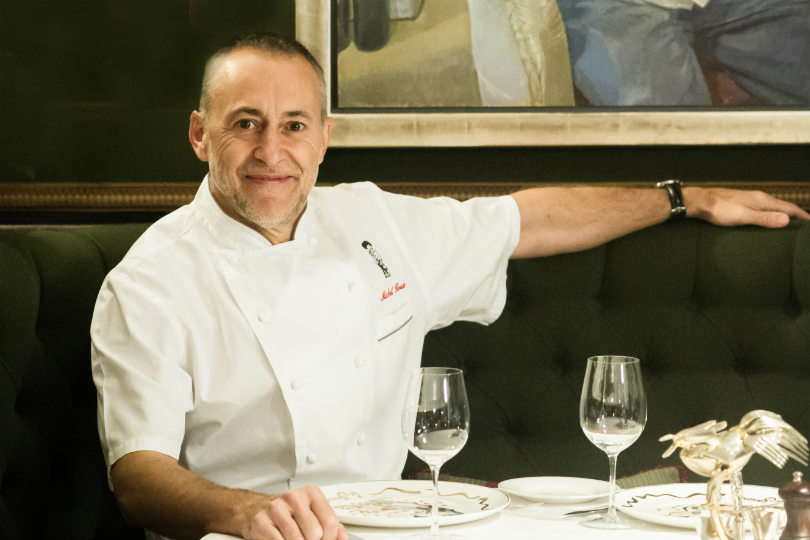 Michel Roux Junior will be onboard Queen Mary 2