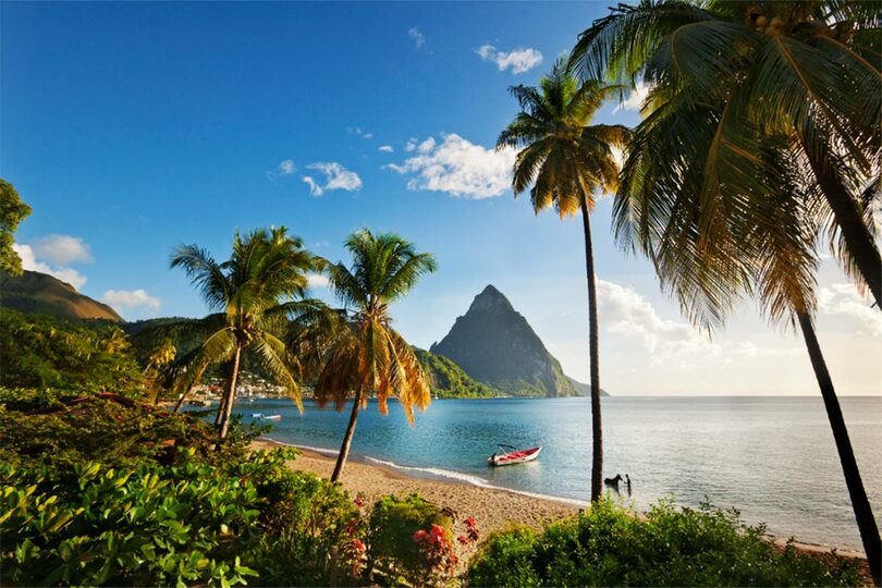 The Saint Lucia booking ran to £160,000
