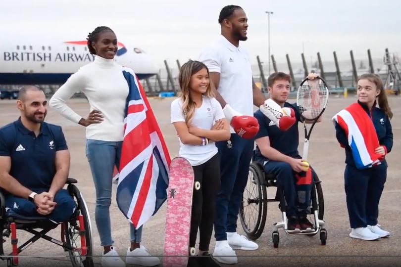 BA named 2020 Tokyo Olympics Team GB partner