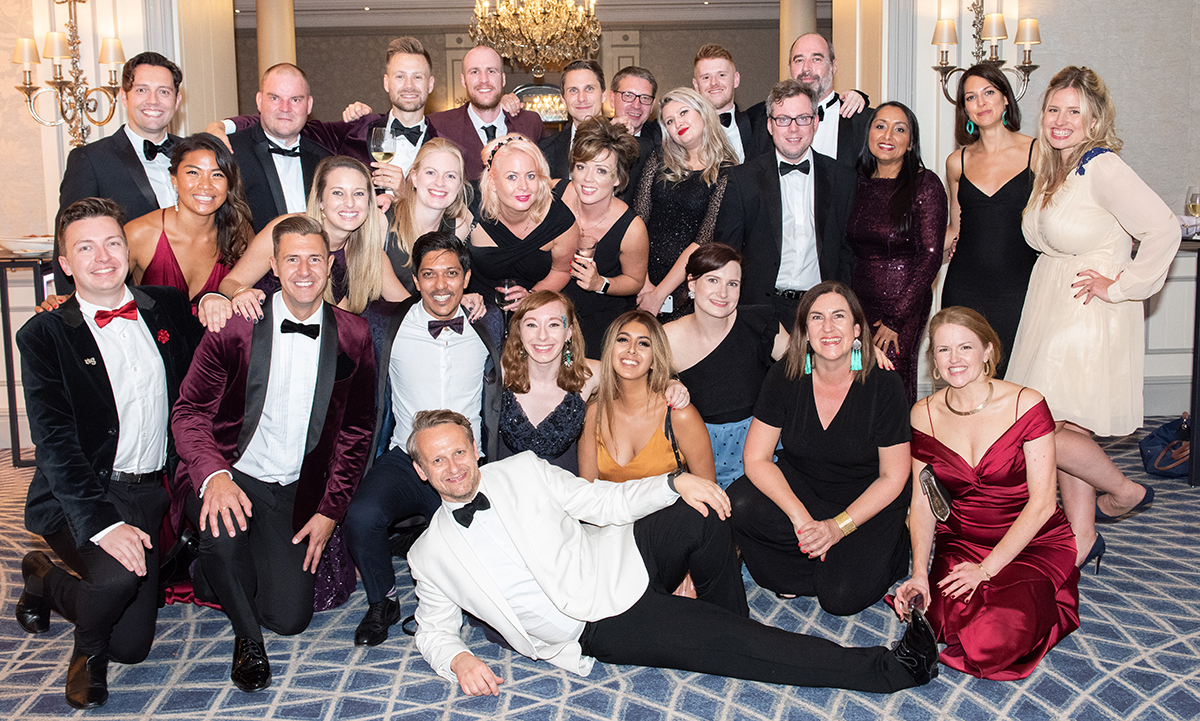 TTG Team at The Savoy, September 2019