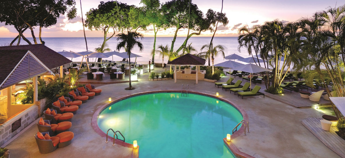 The Pool at Elegant's Tamarind in Barbados