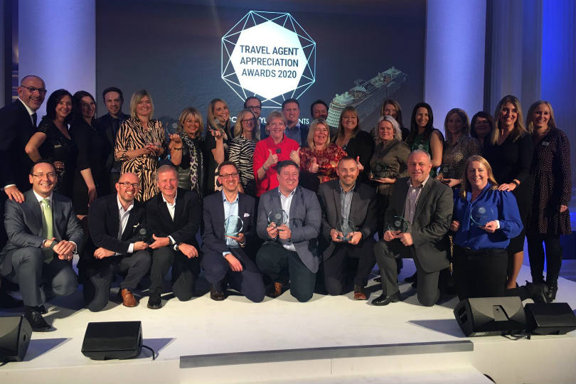 Agents' hard work recognised at Celebrity Cruises awards
