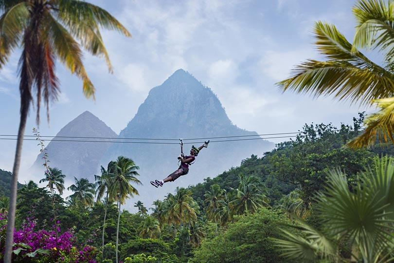 Win a fam trip place to Saint Lucia