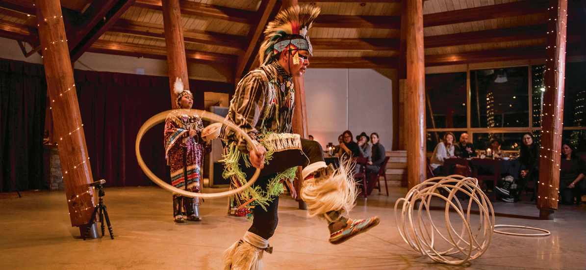 The Squamish Lil'wat Cultural Centre in Canada