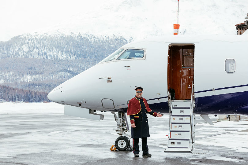 Swiss hotel celebrates centenary with branded aircraft