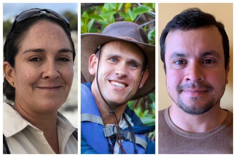 Galapagos Islands Expedition Team: Paulina Aguirre, Nicolai Bolling, Leandro Vaca.