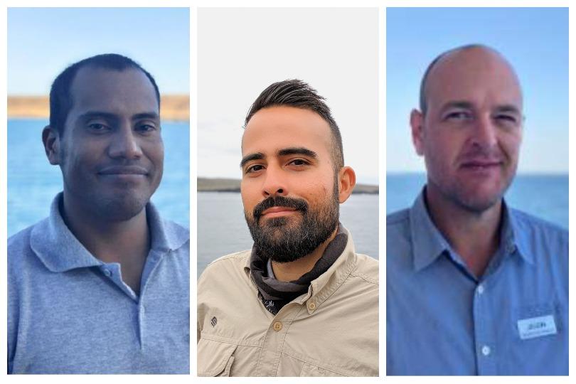 Galapagos Islands Expedition Team: Jeffo Marquez, Bernardo Galvez, Jason Heilmann.