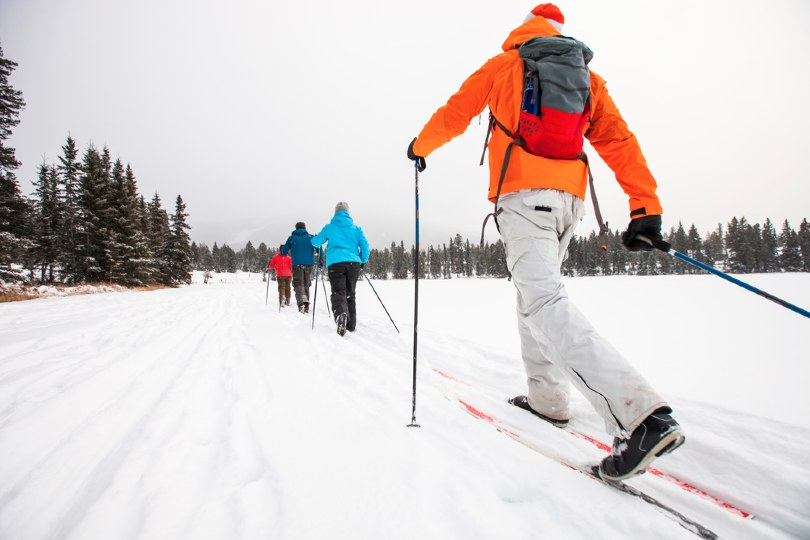 Canada offers plenty of opportunities to go cross-country skiing