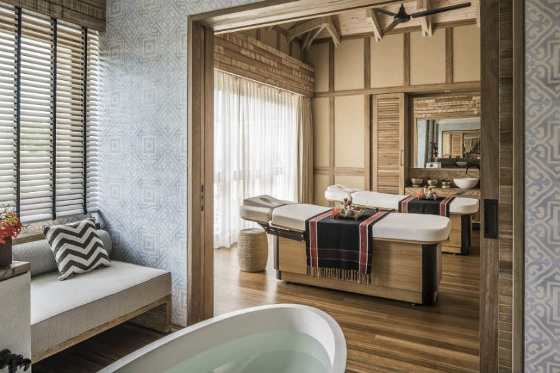 Spa at Four Seasons Resort Seychelles at Desroches Island