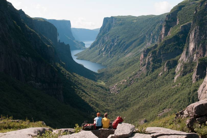 Gros Morne national park offers stunning mountain scenery
