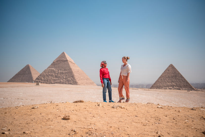 Egypt is among the destinations Lonely Planet is offering