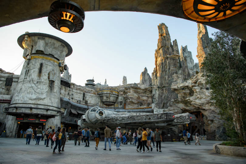 Star Wars' Millennium Falcon at Disney