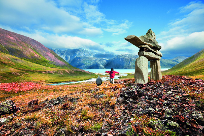Torngat Mountains in Labrador
